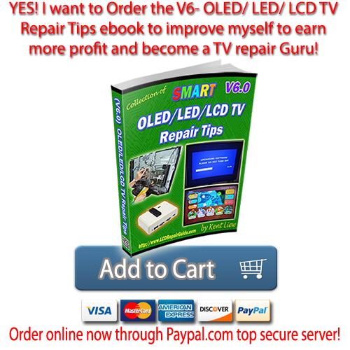 V6- Smart OLED-LED-LCD TV Repair Tips - HOME