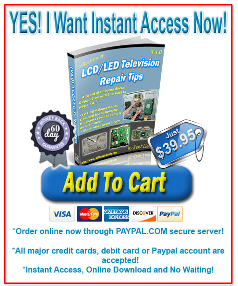 purchase v4.0 led lcd tv repair tips ebook